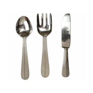 Oversized Cutlery Wall Art Set
