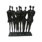 Figurine of 8 ladies