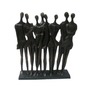 Figurine of 8 ladies