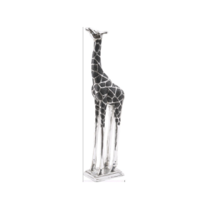 Sculpture of Giraffe Head Forward