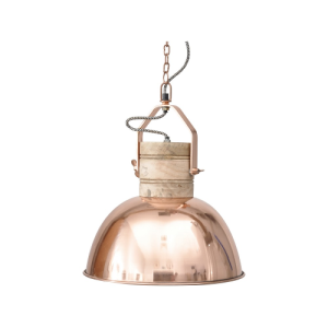 Hambleton Copper Ceiling LIght Medium