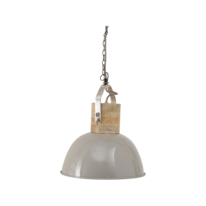 Hambleton Medium Grey Ceiling Light
