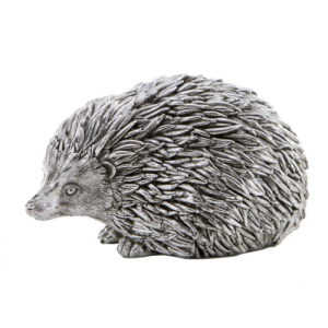 Silver sculpture of Hedgehog
