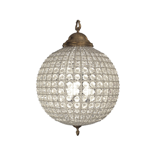 Henley Chandelier Crystal in Medium