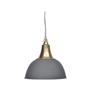 Hambloton Medium Black Ceiling Light
