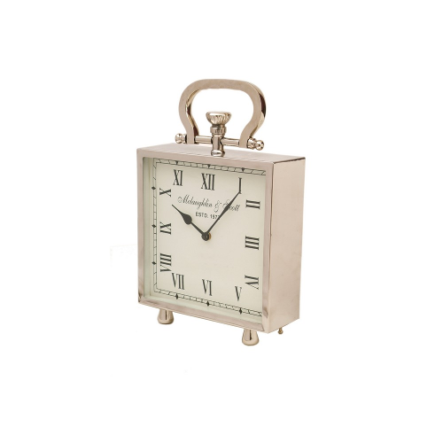 Ambassador Square Clock Mantelpiece Desk Small