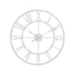 Antique Cream Skeleton Clock