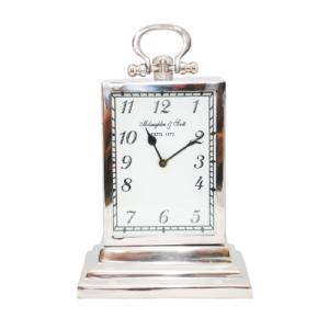 Chaucer Medium Aluminium Rectangular Clock