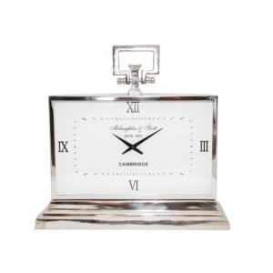 Latham Aluminium Rectangular Clock Medium