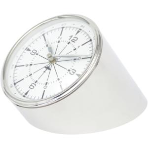 Nickel Aviator Mantel Clock