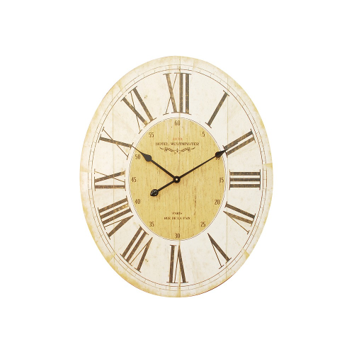 Parisienne Wall Clock with Roman Numerals