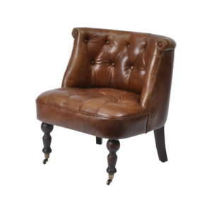Belmont Vintage Light Brown Leather Chair 700080