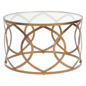 Copper Leaf Round Coffee Table 337800