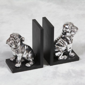 Hector Bull Dog Bookends