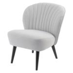 Retro Cocktail Chair Light Grey 700522