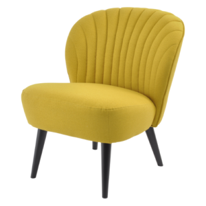 Retro Cocktail Chair Mustard 700521