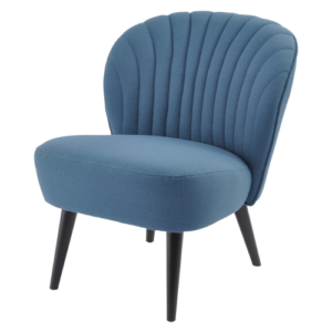 Retro Cocktail Chair Petrol Blue 700520