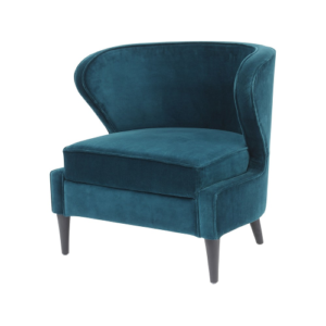 Teal Curve Chair 337832