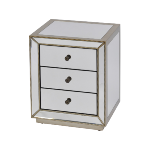 Aston Mirrored Side Table 700058