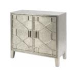 Astor Hand Embossed Metal Two Door Cabinet 337753
