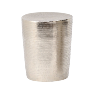 Kasbah Textured Aluminium Round Table Small 431001