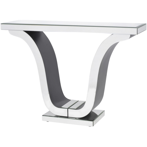 Mirrored Glass Deco Console Table 261008