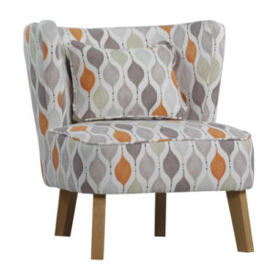 Respire Tub Chair Retro Tangerine