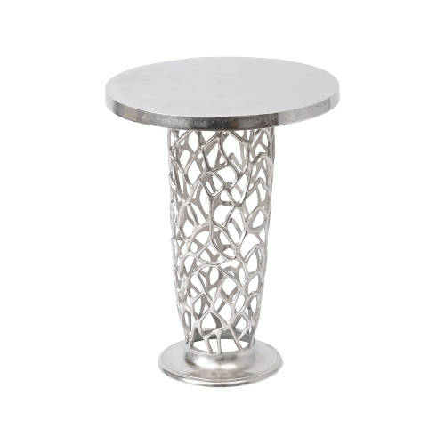Romano Coral Pedestal Side Table 431000