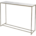 White Marble Console Table 700198