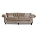 Bloomsbury Sofa in Borghese Velvet Linen