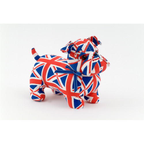 dsuk01-british bulldog union jack doorstop