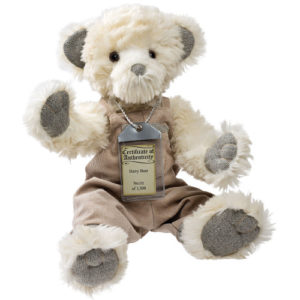silver tag bear harry_17126