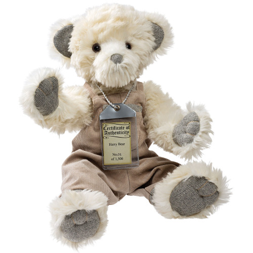 silver tag bear harry_17126