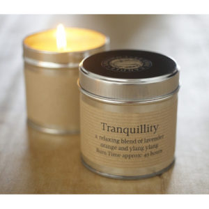 tranquility tin