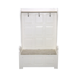 Hanley Hall Bench with hooks and storage