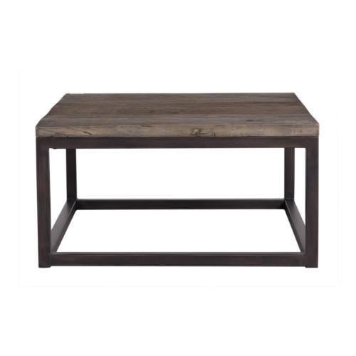 Zara Sofa Table: Zara Square Industrial Coffee Table