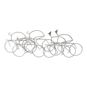 Abstract Cyclist Wall art