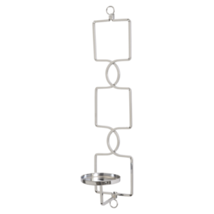 Chrome Deco Wall sconce