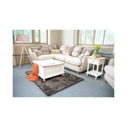 Hanley Square Coffee Table – Antique White