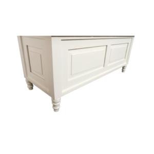 Hanley Storage Bench Antique White