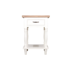 Hanley Side Table 1 Drawer and shelf
