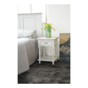 Hanley Side Table French Grey