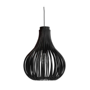 Bulb chandelier black