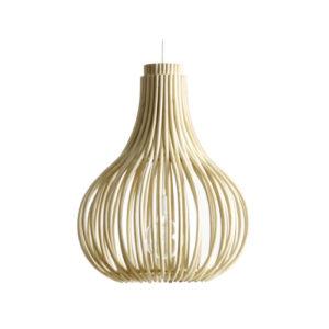 Bulb chandelier natural
