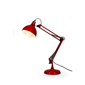 Bright Red Desk Lamp