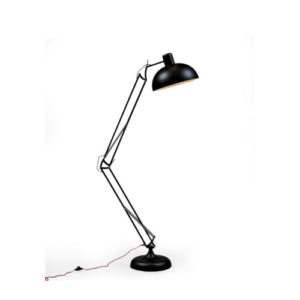 Matt Black Desk style Floor lamp