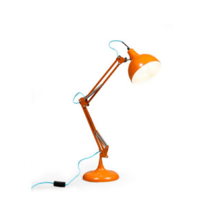Bright Orange Desk Lamp