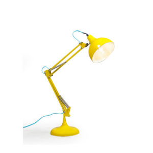 Bright Yellow Desk Lamp