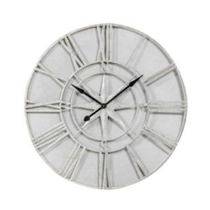 Silver Navigator Skeleton clock