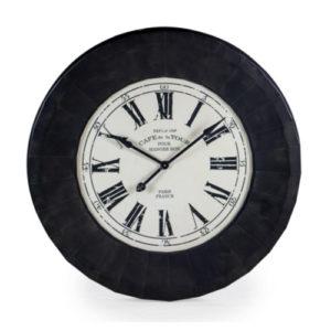 Bistro Clock Black